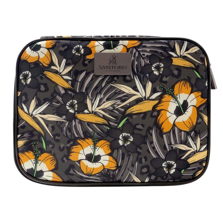 Tropic - Large Cosmetic Case - Gold