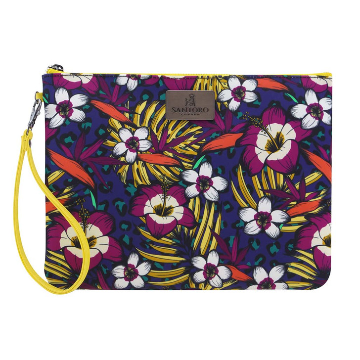 Tropic - Large Accessory Pouch - Jewel