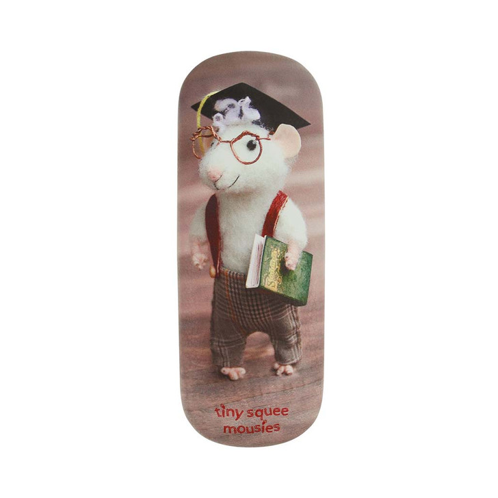 Tiny Squee Mousies - Glasses Case - Little Genius