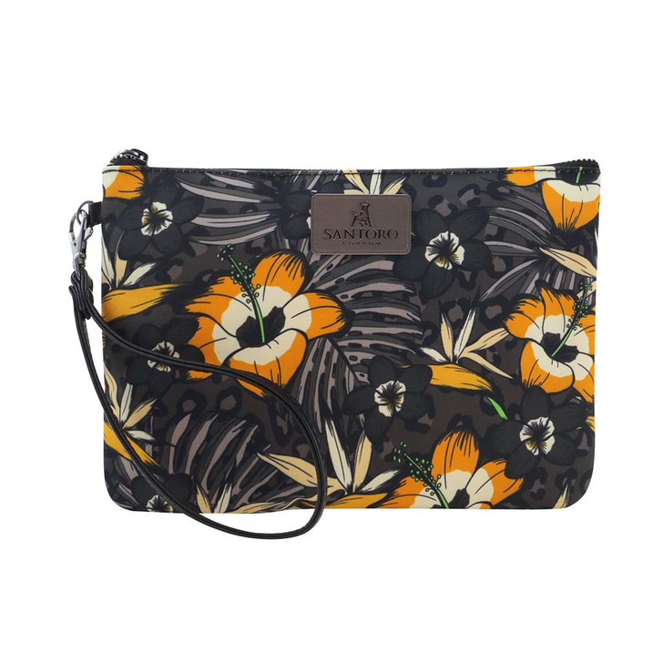 Tropic - Accessory Pouch - Gold