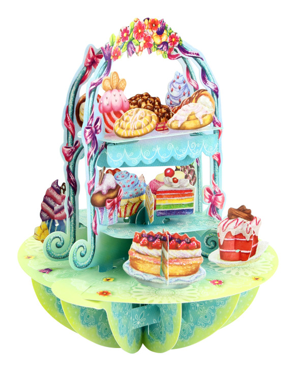 Pirouettes - Cake Display