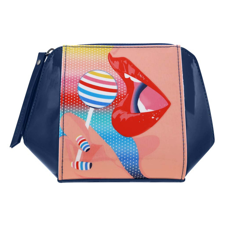 First Class Lounge - Structured Accessory Case - Lollipop