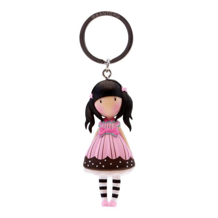 Gorjuss - Moulded Key Ring - Sugar And Spice