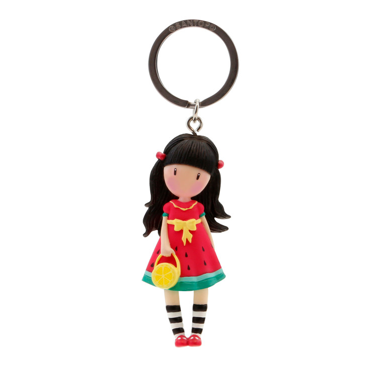 Gorjuss - Moulded Key Ring - Every Summer Has A Story