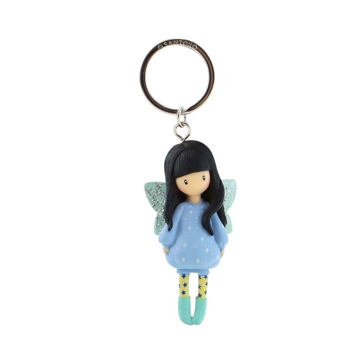 Gorjuss - Moulded Key Ring - Bubble Fairy