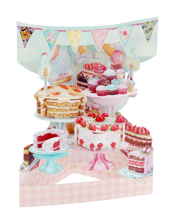 Swing Cards - Home Baked Cakes