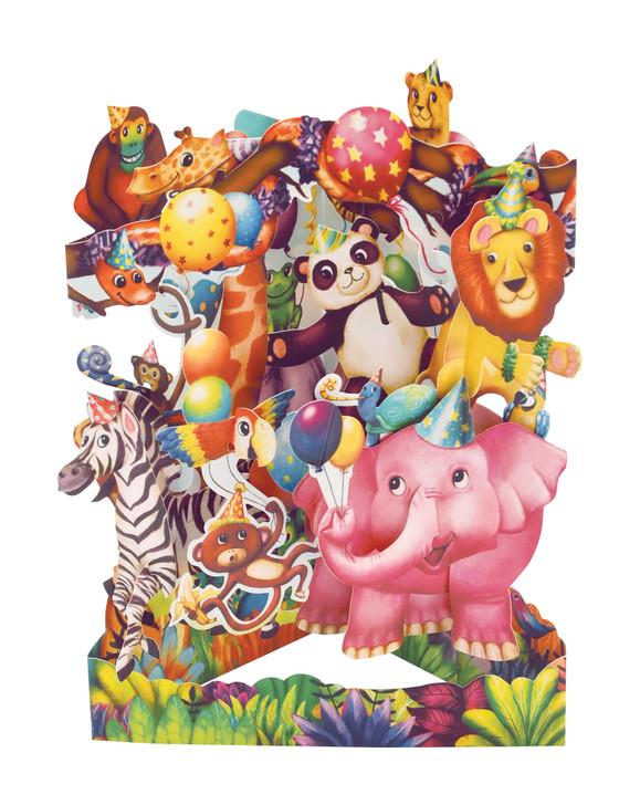 Swing Cards - Animal Party