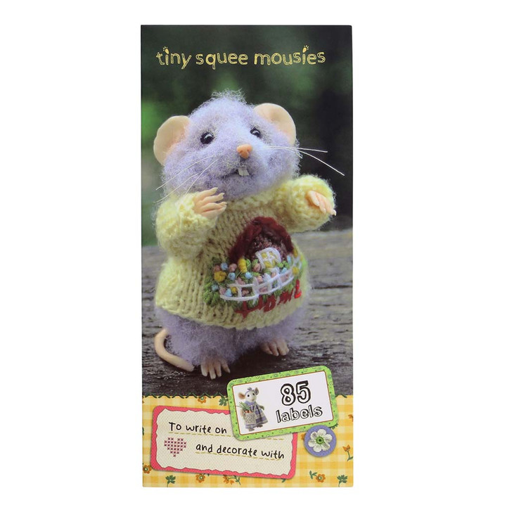 Tiny Squee Mousies - Label Folder - Little Hug