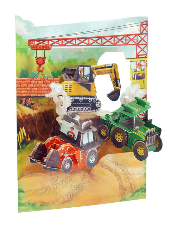 Swing Cards - Tractors And Diggers