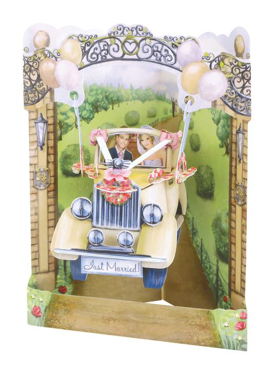 Swing Cards - Wedding Car