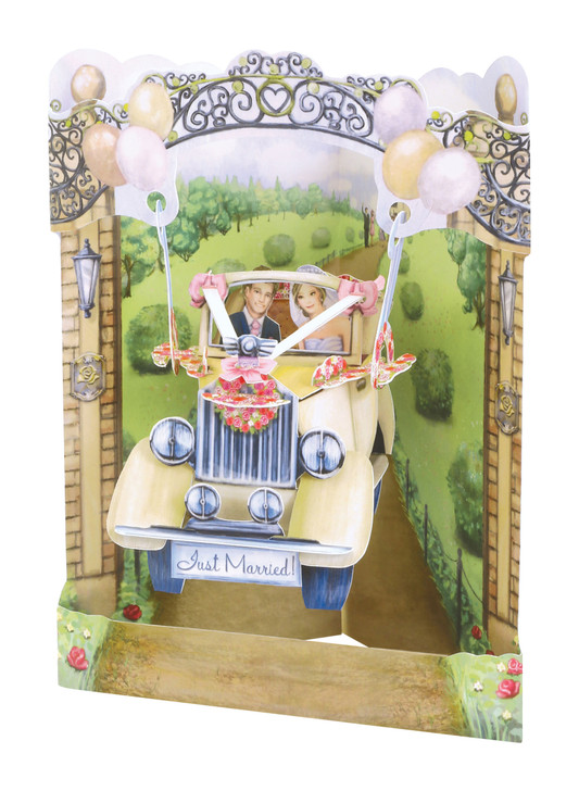 Swing Cards - Wedding Car