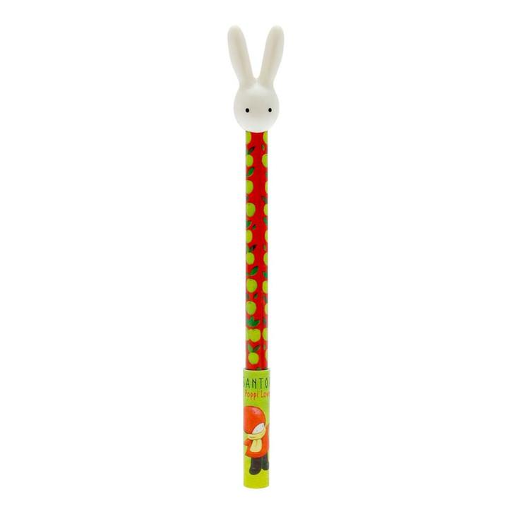 Poppi Loves - Pen With 3D Bunny Topper - Poppi Loves