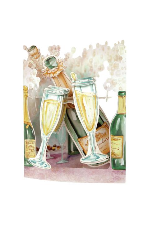 Swing Cards - Champagne Celebration
