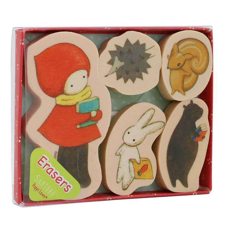 Poppi Loves - Eraser Pack - Poppi Loves