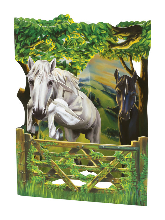 Swing Cards - Jumping Horse