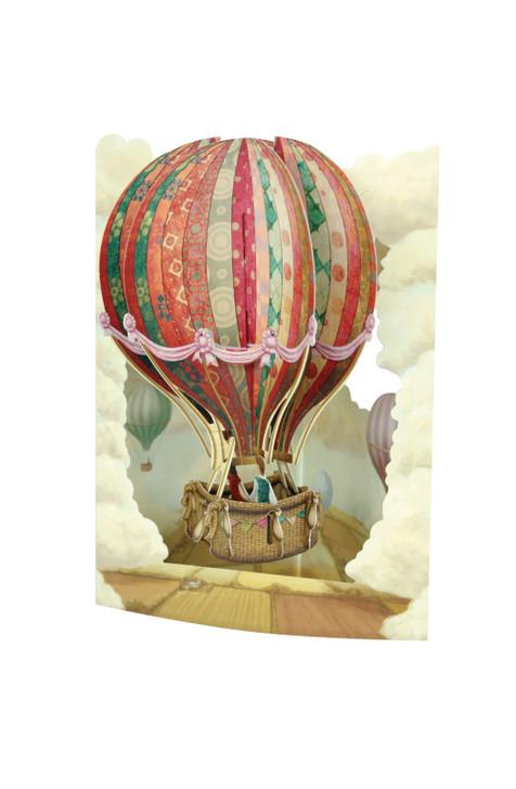 Swing Cards - Hot Air Balloon