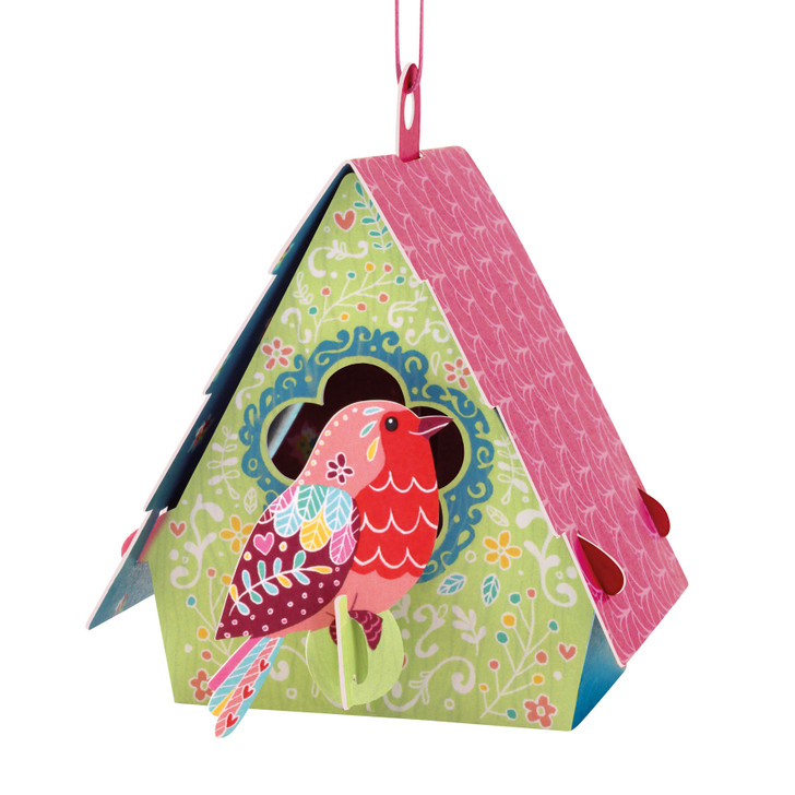 Chandeliers Cards - Bird House - Robin