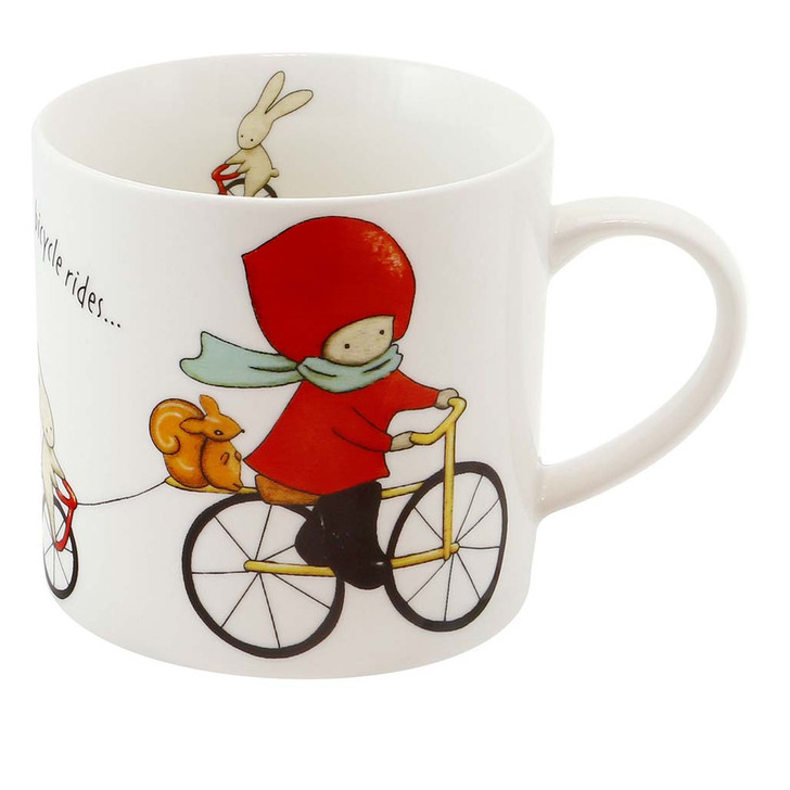 Poppi Loves - Large Mug - Cycling