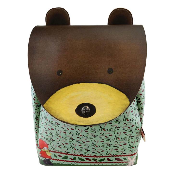 Poppi Loves - Animal Rucksack - Bear