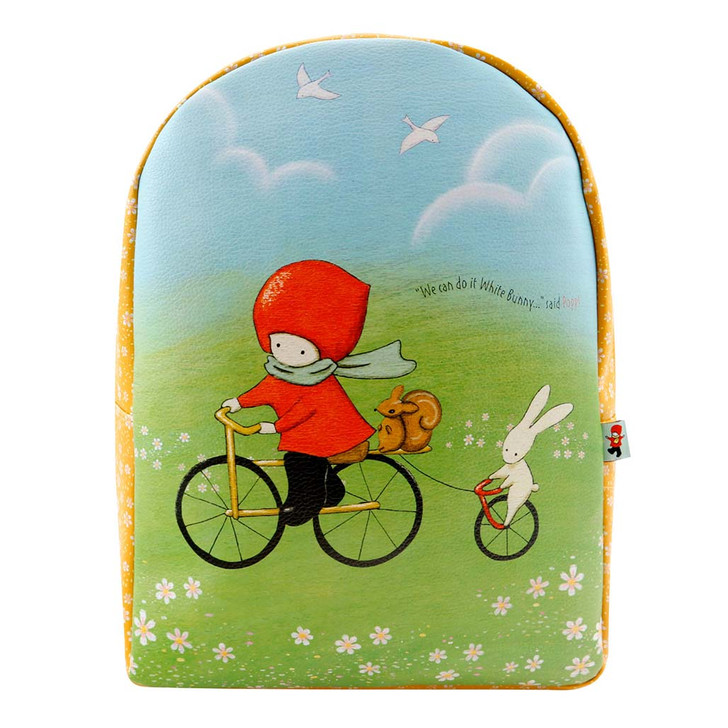 Poppi Loves - Zipped Backpack - Cycling