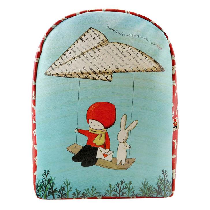 Poppi Loves - Zipped Backpack - Messenger