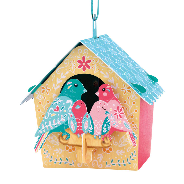 Chandeliers Cards - Bird House - Family