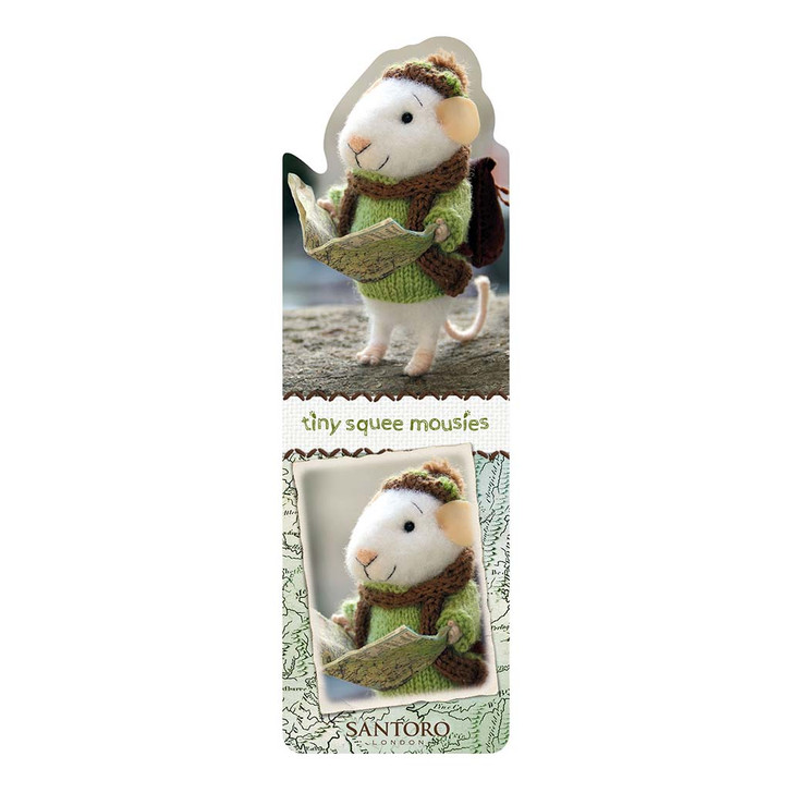 Tiny Squee Mousies - Bookmark - Little Adventure Squeaker