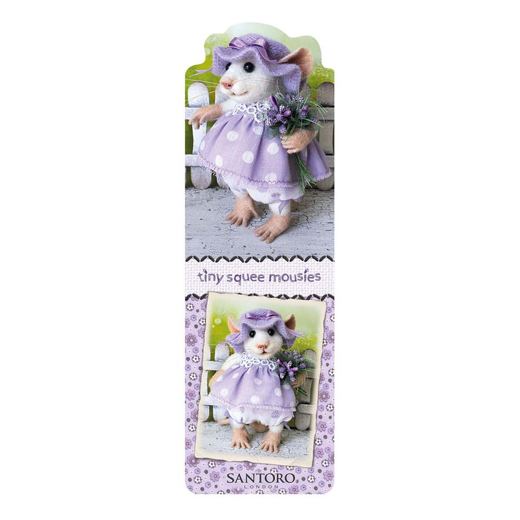 Tiny Squee Mousies - Bookmark - Little Sweetie
