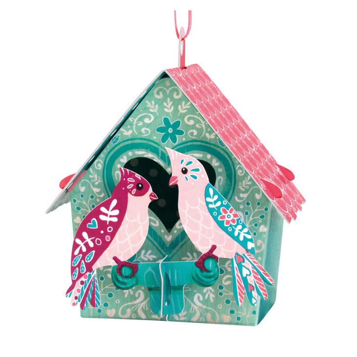 Chandeliers Cards - Bird House - Love Birds