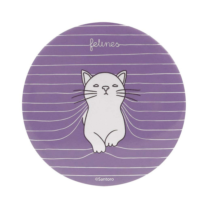 felines - Pocket Mirror And Envelope - Purrrfect Place
