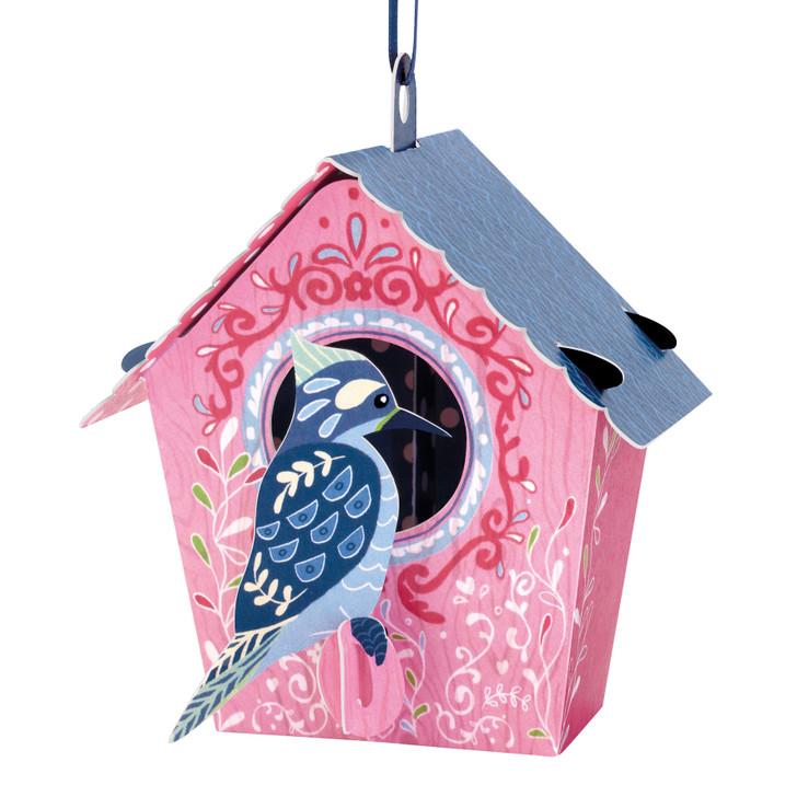 Chandeliers Cards - Bird House - Woodpecker