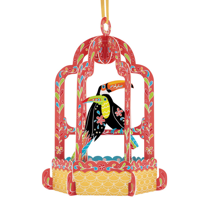 Chandeliers Cards - Birdcage - Toucan