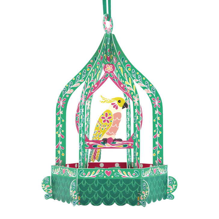 Chandeliers Cards - Birdcage - Cockatoo