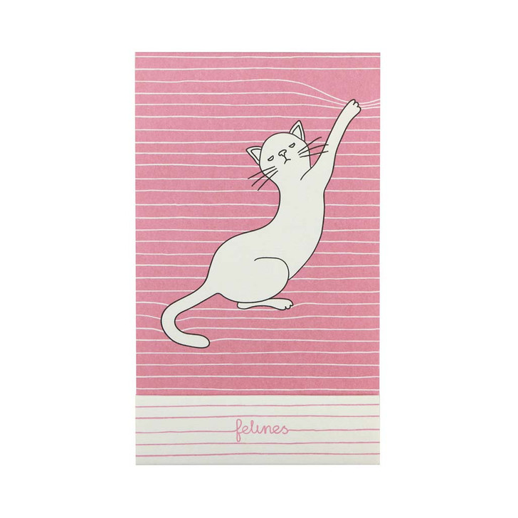 felines - Matchbook Notebook - Asking Fur Trouble