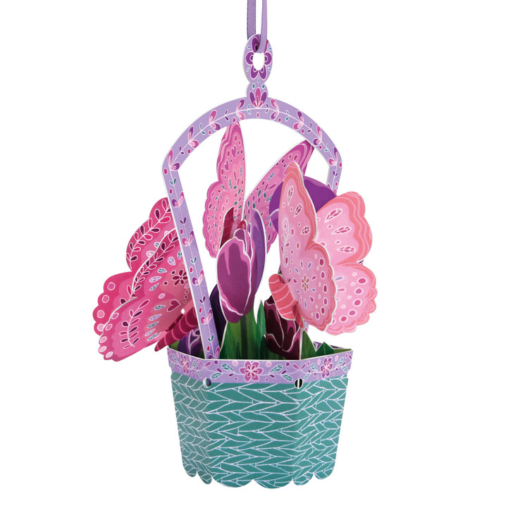 Chandeliers Cards - Butterfly Basket - Tulips