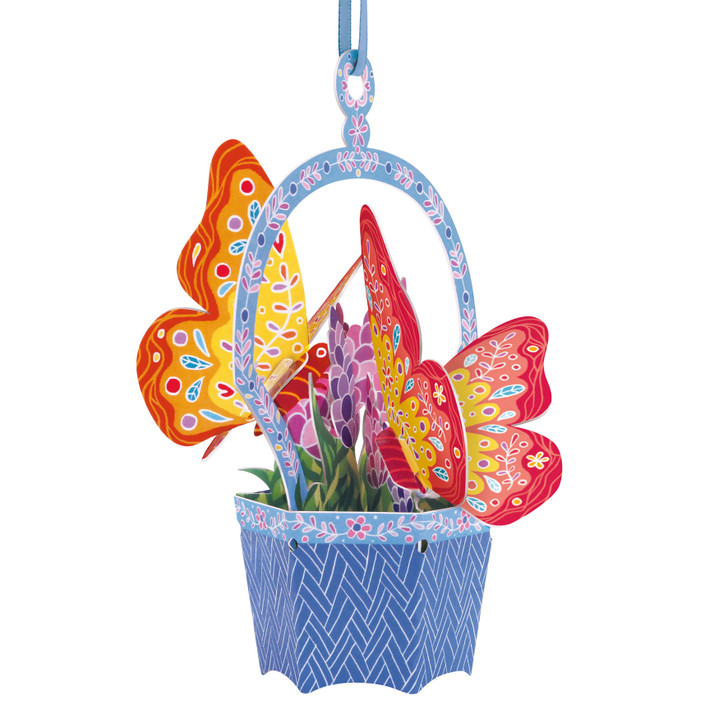 Chandeliers Cards - Butterfly Basket - Lavender