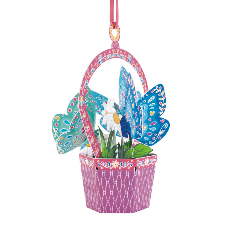 Chandeliers Cards - Butterfly Basket - Daisy