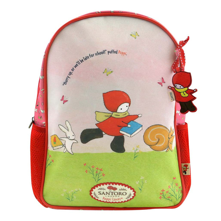 Poppi Loves - Zipped Backpack - Catch Me