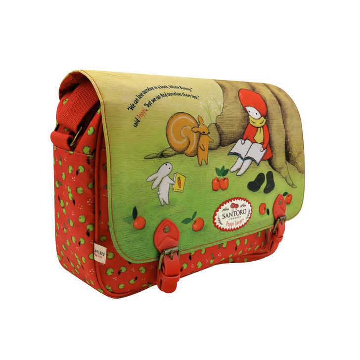 Poppi Loves - Large Satchel - Reading Out Loud