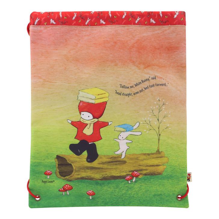 Poppi Loves - Drawstring Bag - Balance