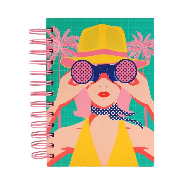 First Class Lounge - Wiro-Bound Notebook - I Spy