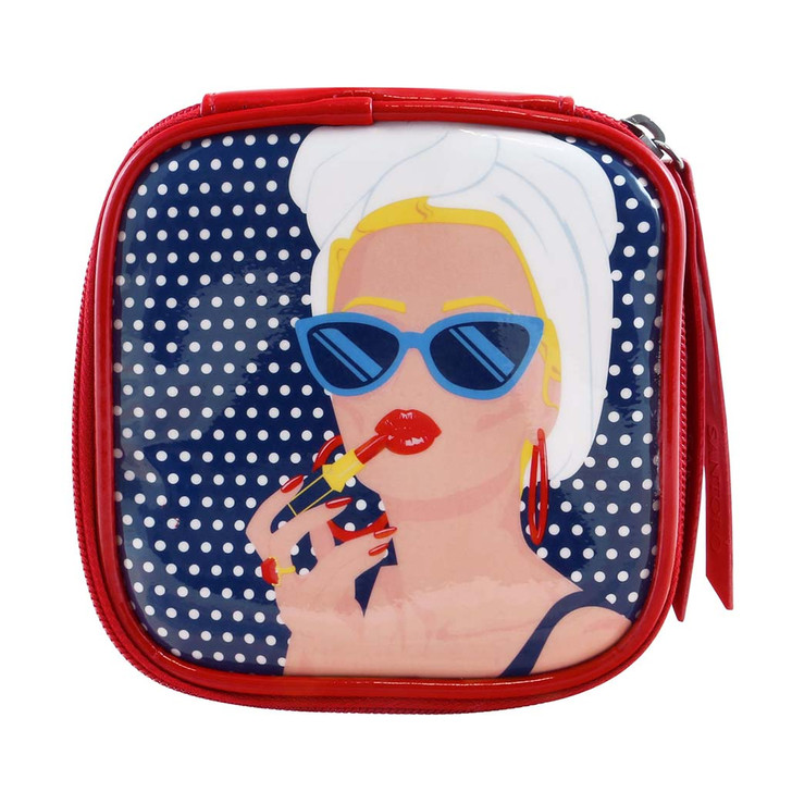 First Class Lounge - Zipped Case - Lady Red