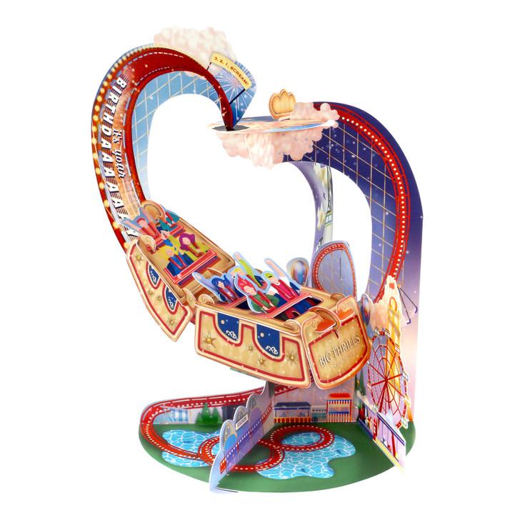Pendulum Cards - Roller Coaster