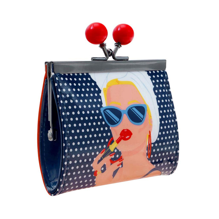 First Class Lounge - Clasp Purse - Lady Red