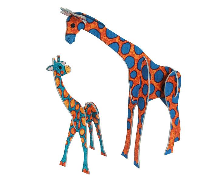 Patchpops - Giraffe & Baby