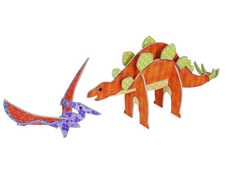 Patchpops - Stegosaurus & Pterodactyl