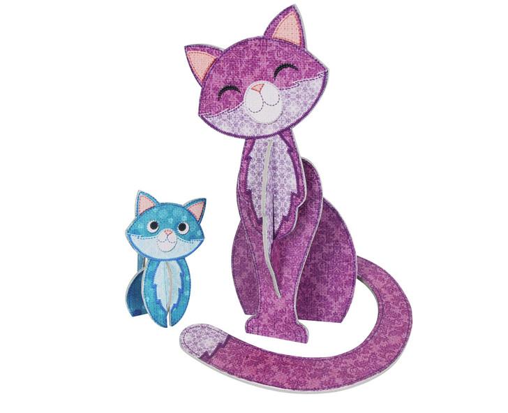 Patchpops - Cat & Kitten
