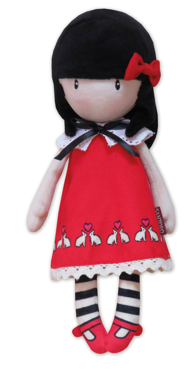 Gorjuss - 30cm Rag Doll In Gift Box - Time To Fly