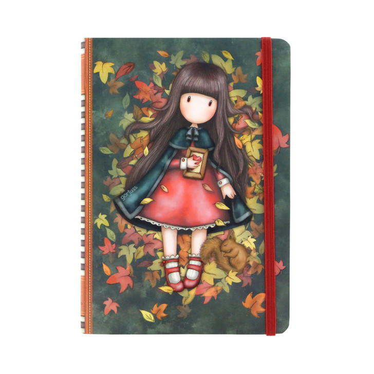Gorjuss - Hardcover Notebook - Autumn Leaves