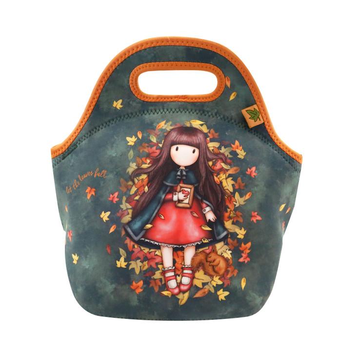 Gorjuss - Neoprene Lunch Bag - Autumn Leaves